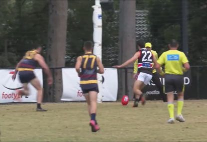 Forward somehow manages to miss the unmissable