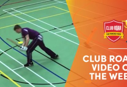CLUB ROAR VIDEO OF THE WEEK: Hapless batsman gets a golden after three year hiatus