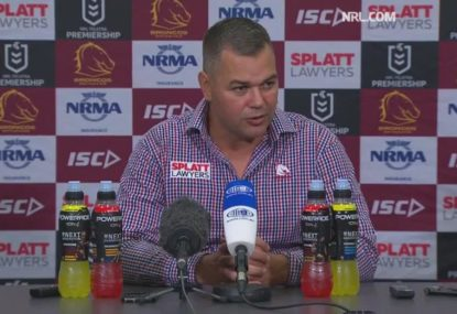 Anthony Seibold backs rookie prop Payne Haas for Origin