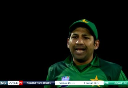 Did Pakistan miss out on a wicket for not appealing?