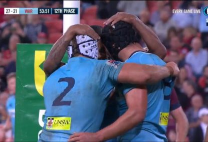 Beale looks at home in Folau's absence as Tahs bag a win in QLD