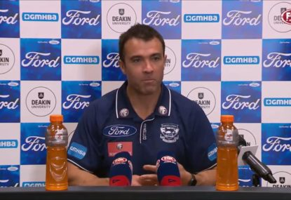 'All part of the Danger show': Chris Scott's cheekily clips Dangerfield over latest injury