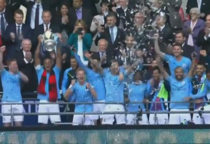 Manchester City demolish Watford to claim historic FA Cup win