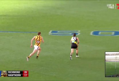 Hawks tall inspirationally runs down Tigers small