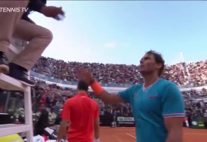 Nadal smashes Djokovic to win Italian Open
