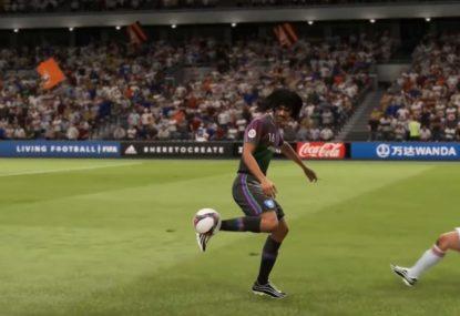 Genius FIFA gamer puts on a dribbling masterclass