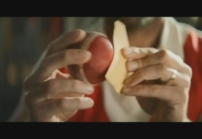 The sandpaper jibes have started as Fosters release pre-Ashes cricket commercial
