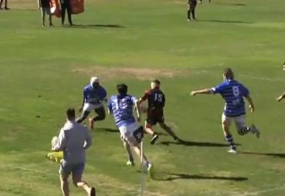 Kalyn Ponga clone tortures opposition with 65m ankle-breaking try