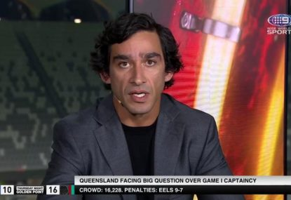 Johnathan Thurston's left-field pick for QLD captain