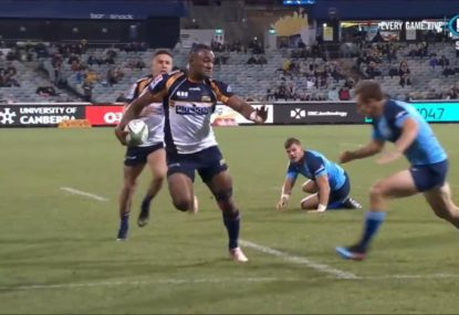 Tevita Kuridrani wants a Wallaby jersey as he finds form for the Brumbies