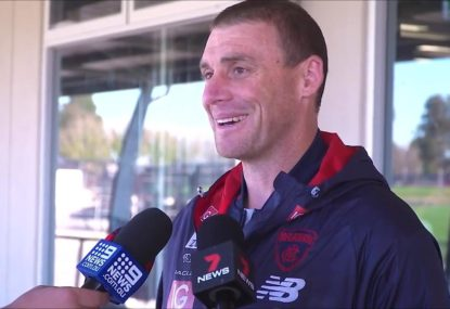 Simon Goodwin copped 'a bit of a razz' from Dees after dizzy spell