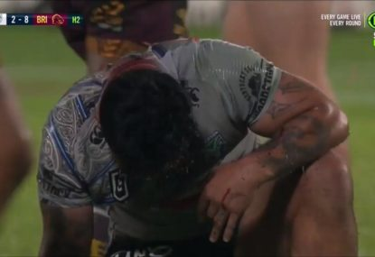 Butter-fingered Issac Luke seals Broncos' thrilling win