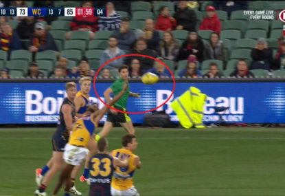 Were the Eagles lucky to have a chance at their match-sealer?