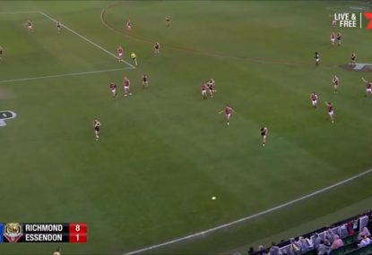 Richo mystified as clear deliberate out of bounds isn't paid