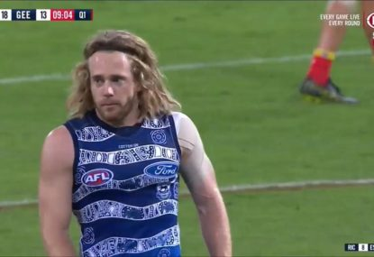 Cats midfielder cops an almighty commentator's curse