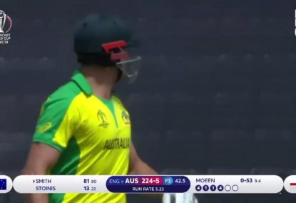 Smith blasted after miscommunication sees Stoinis run out