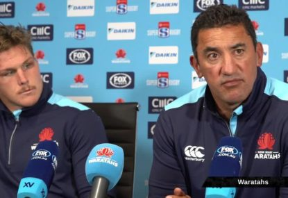 'It's going to be very difficult': Daryl Gibson on Tahs' play-off hopes