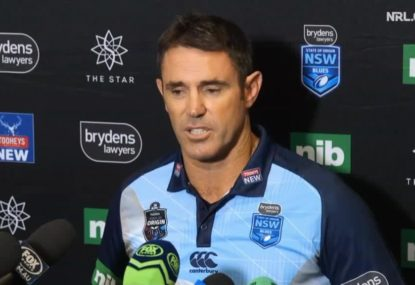 WATCH: Brad Fittler explains NSW halves selections