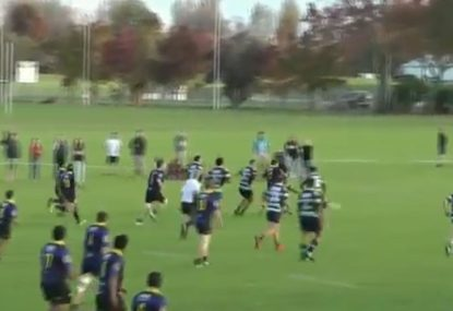 Indescribable 40 seconds of rugby chaos is a coach-killer and a fan-winner