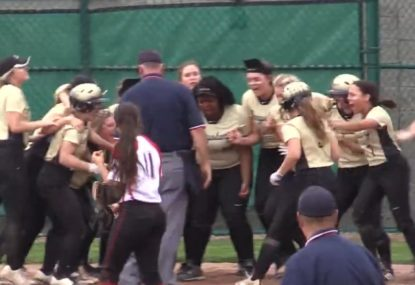 Softballer socks a dinger to claim intense semi-final victory