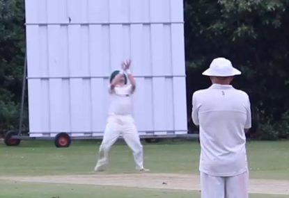 First slip drops one of the biggest sitters in village cricket history