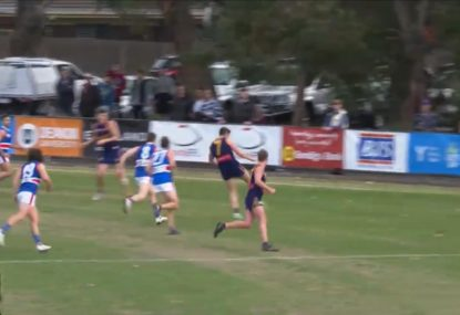 Sneaky forward gets miracle bounce for brilliant six-pointer