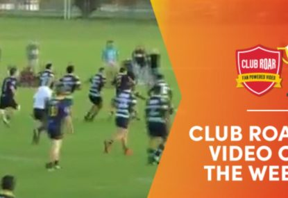 CLUB ROAR VIDEO OF THE WEEK: 40 seconds of coach-killing, fan-winning rugby chaos