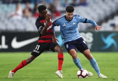 Paulo Retre is Sydney FC's utility man