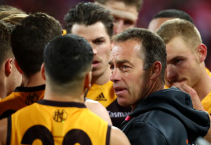 Instinct not advice to help Hawks in hub
