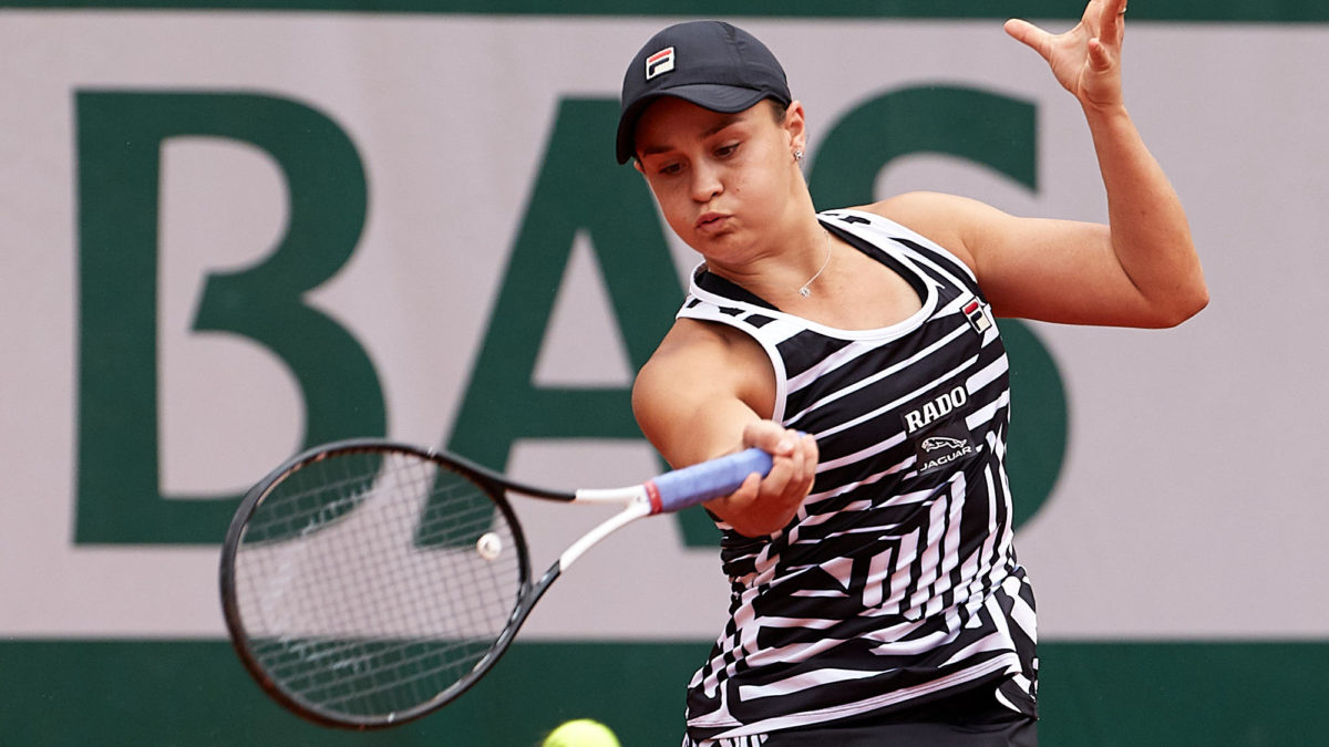 Barty close to claiming No.1 tennis ranking