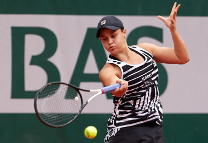 Ashleigh Barty breaks new ground at French Open, as the quarter-finals get underway