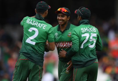 Bangladesh down and out but want to end World Cup on a high against rivals