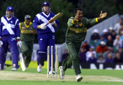 Rewind to 1999: The first ODI in Scotland