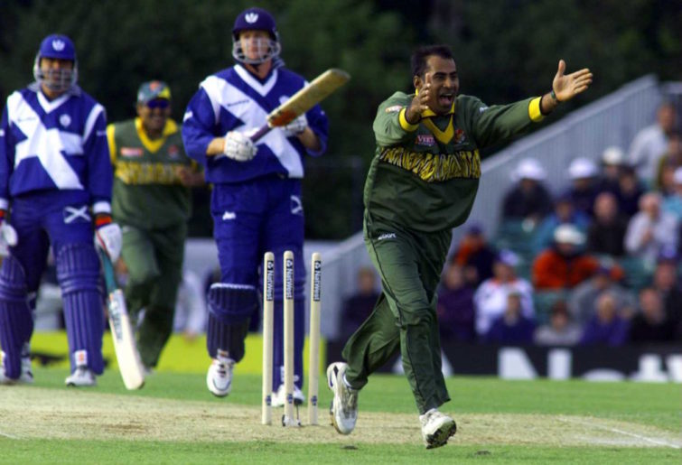Bangladesh face Scotland at the 1999 World Cup