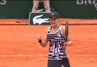 WATCH: Barty through to French Open women's final