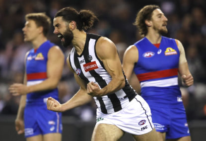 Pies stun Eagles in thrilling grand final rematch