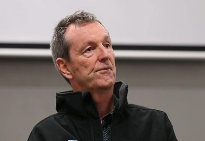 WATCH: Neale Daniher's powerful message for the Demons ahead of Pies clash