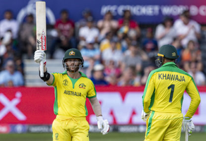 David Warner, Aaron Finch lead Australia through demolition job of Afghanistan