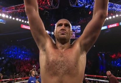 Tyson Fury 'masterclass' devastates opponent in two rounds