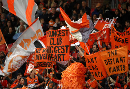 GWS are tearing up the AFL, so where are the fans?