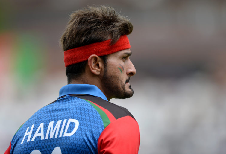 Afghanistan pacer Hamid Hassan.