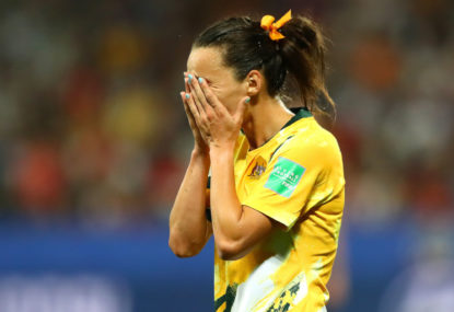 Matildas knocked out by Norway in penalty shoot-out