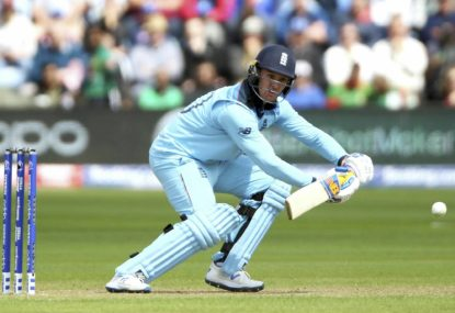 England end India's unbeaten run in CWC