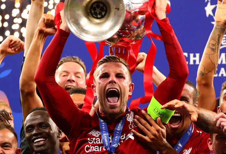 Liverpool captain Jordan Henderson.