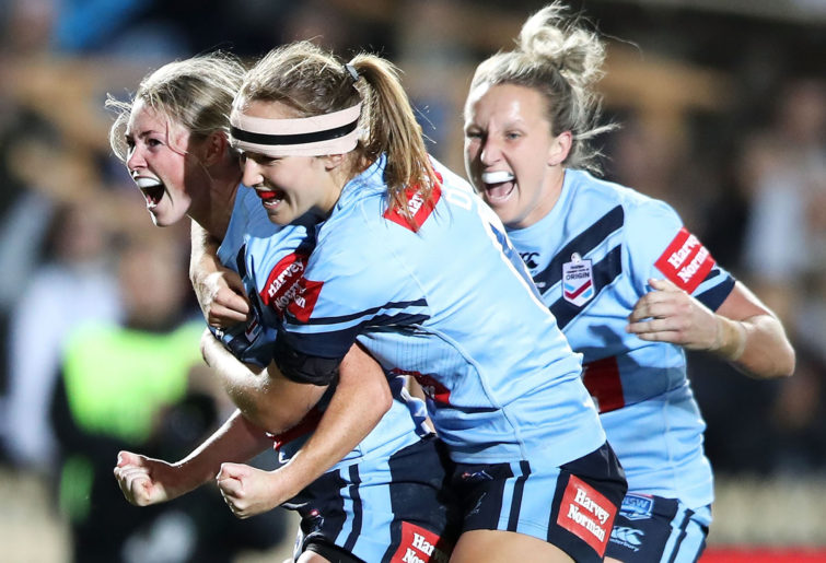 NSW Origin star Maddie Studdon.