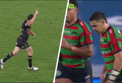 Walker's missed drop goal comes back to haunt Rabbitohs as Maloney strikes