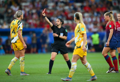 Did the refs rob the Matildas against Norway?