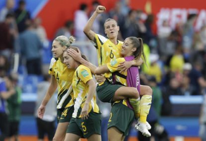 World Cup win builds on Australia's wave of women's sport