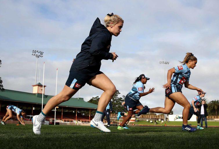 NSW Blues women Origin team