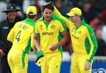 Judicious use of depth the difference between Australia and the Windies